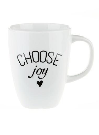Morhipo Home Choose Joy - Çift Taraflı Kupa Beyaz